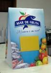 Placa mar de fruta